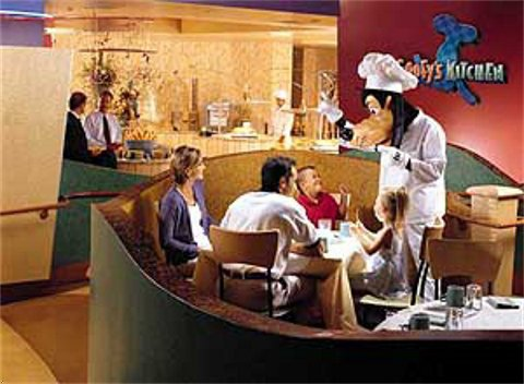 Pics Photos  Goofy S Kitchen In The Disneyland Hotel Is A Top Choice