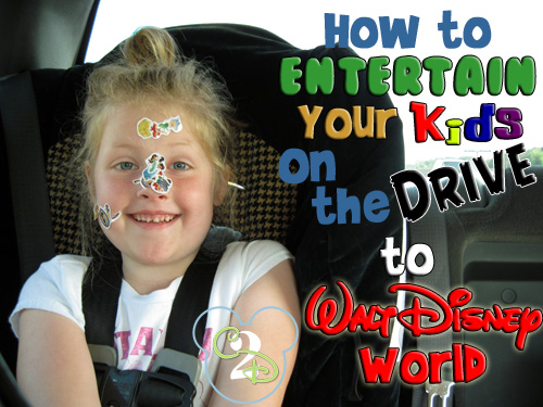 Entertain Kids on the Way to Disney