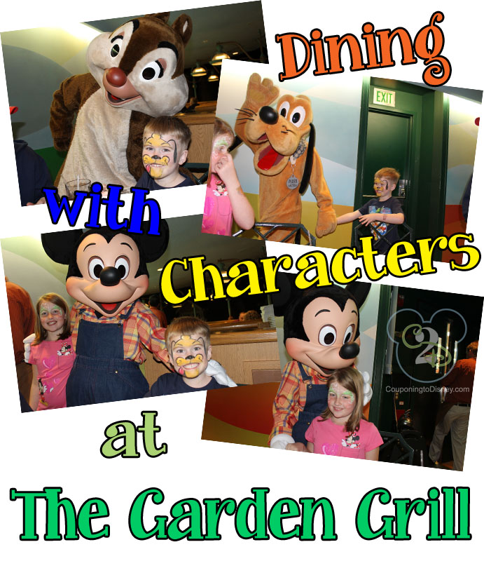 Character Dining at The Garden Grill
