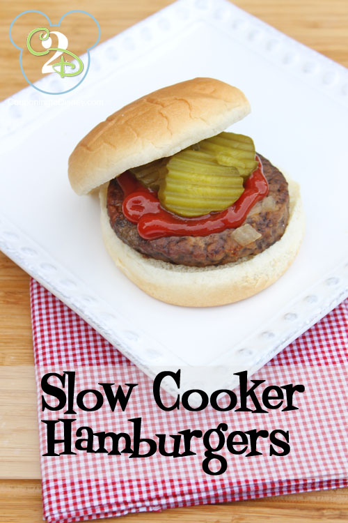 Slow Cooker Hamburgers