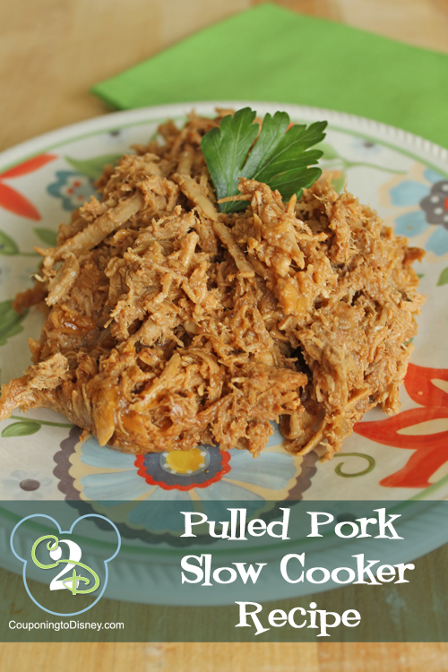 Pulled Pork Slow Cooker Recipe