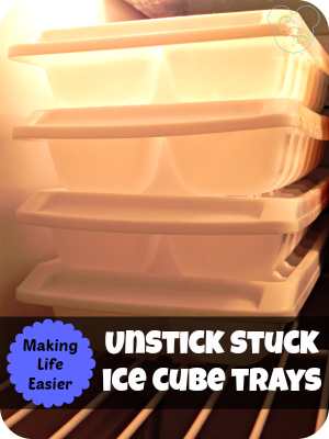 Unstick Ice Cube Trays