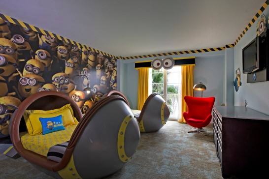 Rides At Universal Studios Orlando Invaded By Minions