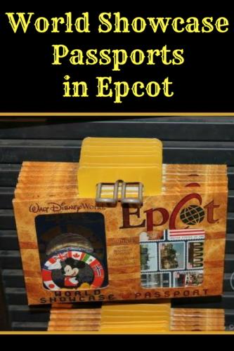 World Showcase Passports In Epcot
