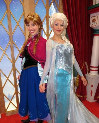 Changes to anna and elsa meet and great and other walt disney world anna and elsa m4hsunfo