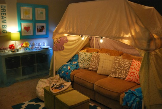 Sleeping Beauty Fort Tent