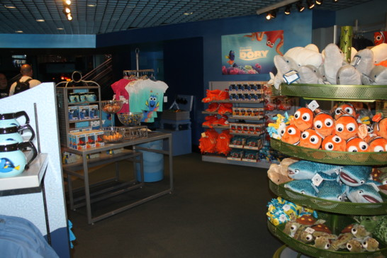 SeaBase Gift Shop in Epcot