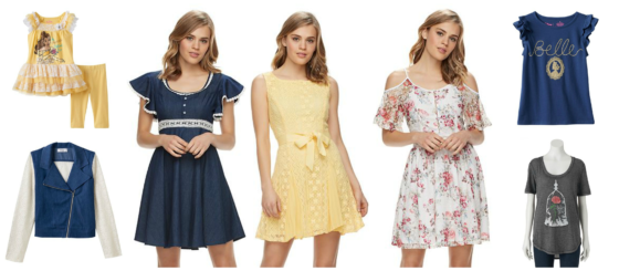 Beauty The Beast Clothes Collection At Kohl S For Disney Bounding