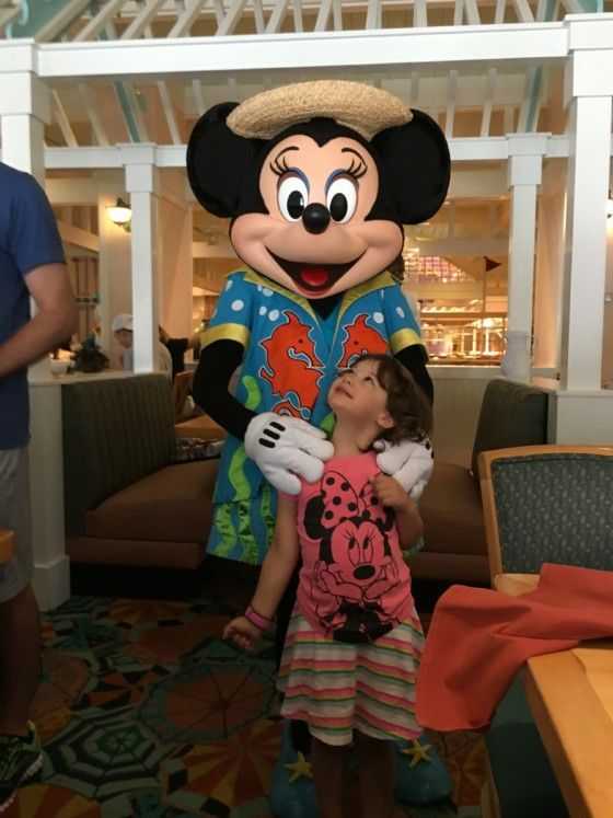 Minnie's Beach Bash Breakfast Review