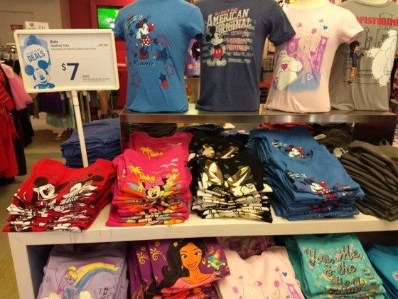 a2f26e7f556 However, if you know you have an upcoming Disney trip watch for after  Halloween clearance at Walmart. I scored the above shirts 90% off, at just  $0.98 each.