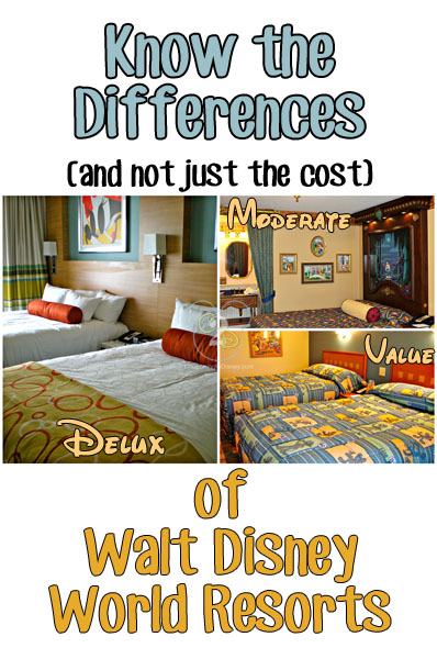 Differences in Resorts