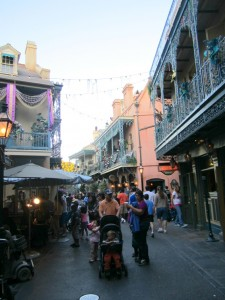 Shopping at New Orleans Square