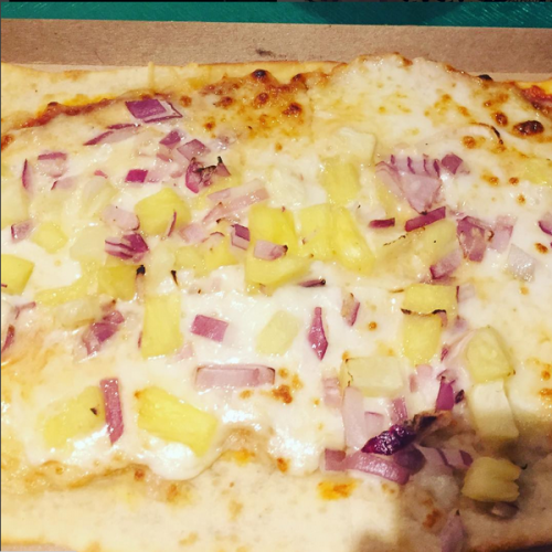 Pineapple Pizza. Photo Credit: Pics From The Tower