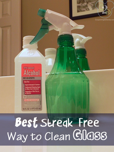 Best Streak Free Way to Clean Glass