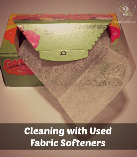 Cleaning with Fabric Softeners
