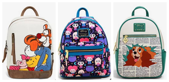 5 New Loungefly Backpacks You Need To See